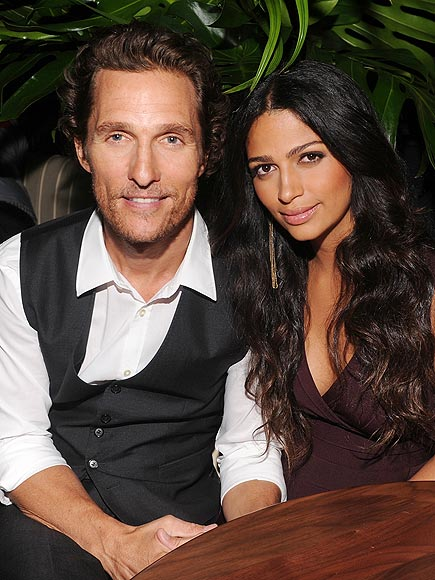 MATTHEW & CAMILA photo | Matthew McConaughey