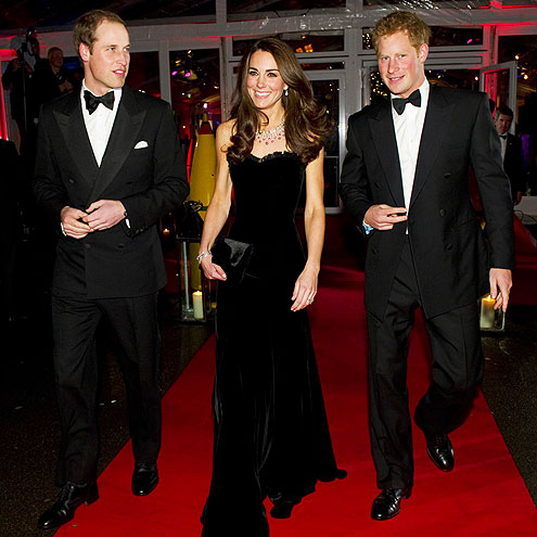 ROYAL BRIGADE photo | James Middleton, Prince Harry, Prince William