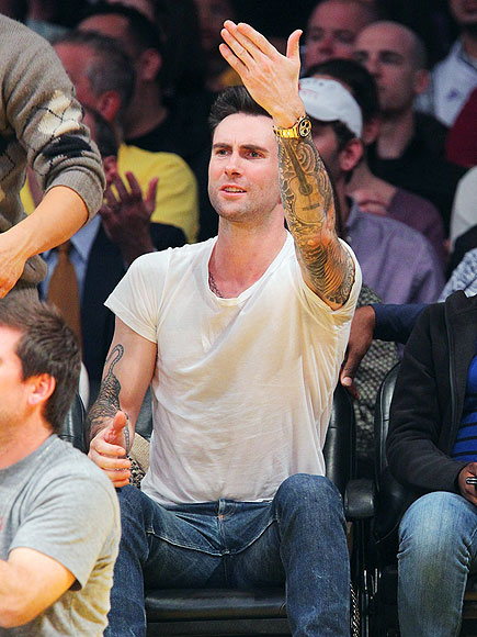 GAME FACE photo | Adam Levine