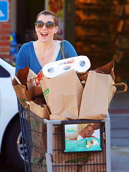 SUPERMARKET SWEEP photo | Alyson Hannigan