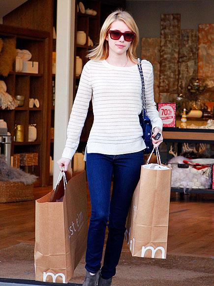 BAG LADY photo | Emma Roberts