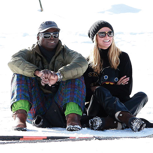 SNOWED IN photo | Heidi Klum, Seal