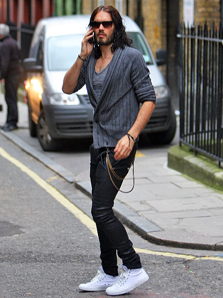 RING IT IN photo   Russell Brand