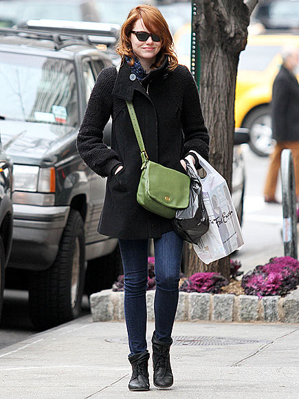 COAT CHECK   photo | Emma Stone