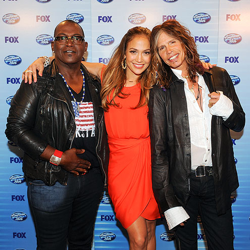 GROUP SHOT photo | Jennifer Lopez, Steven Tyler