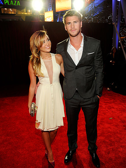 Check Him Out photo | Liam Hemsworth, Miley Cyrus