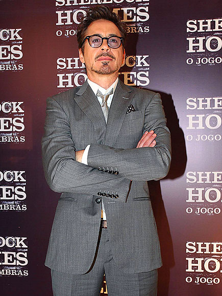 STRONG ARMED photo | Robert Downey Jr.