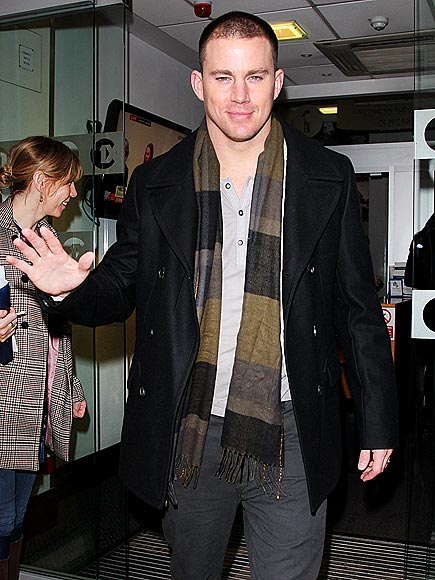 CHEERIO, MATES   photo | Channing Tatum