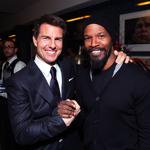 WARM WELCOME photo | Jamie Foxx, Tom Cruise