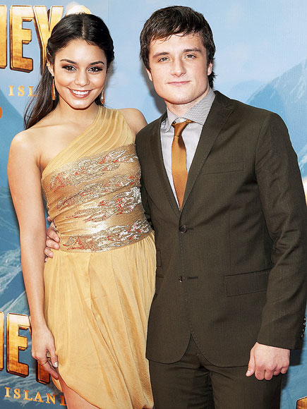 THESPIAN SUPPORT  photo | Josh Hutcherson, Vanessa Hudgens