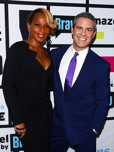 'WATCH' OUT photo | Andy Cohen, Mary J. Blige