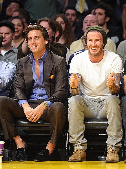 HOLDING COURT photo | David Beckham, Scott Disick