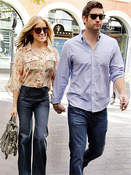 HAPPY STROLL photo | Jay Cutler, Kristin Cavallari