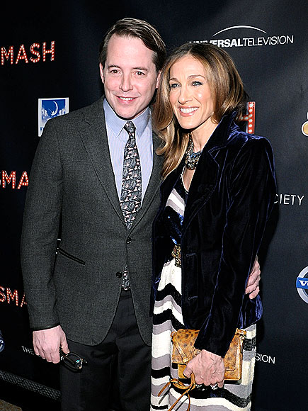 SMASH-ING COUPLE photo | Matthew Broderick, Sarah Jessica Parker
