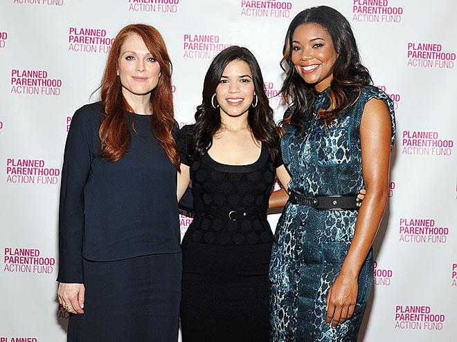 CAUSE CELEBS  photo | America Ferrera, Gabrielle Union, Julianne Moore