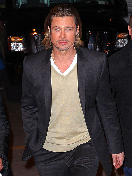 THE 'SMIZE' HAS IT photo | Brad Pitt