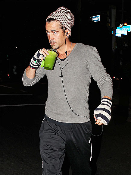 JUICED UP  photo | Colin Farrell