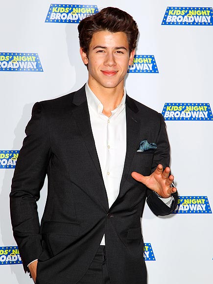 HITTING A 'HI' NOTE photo | Nick Jonas