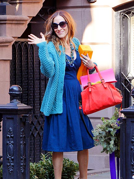 COLOR BLOCK   photo | Sarah Jessica Parker