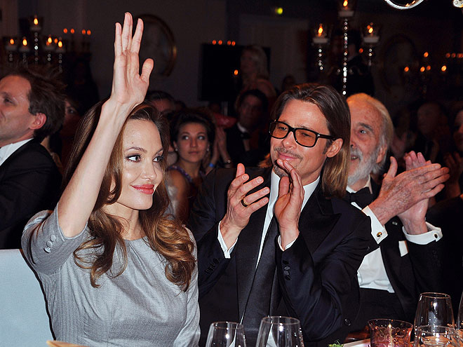 RAISING THE BAR photo   Angelina Jolie, Brad Pitt