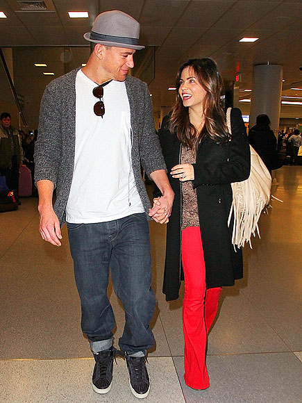 RED-Y FOR LOVE photo | Channing Tatum, Jenna Dewan