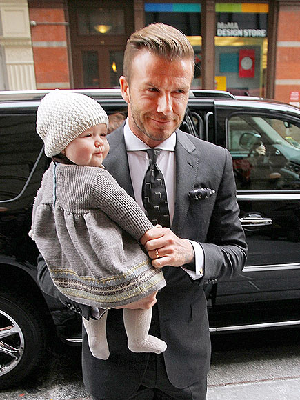 DADDY DUTY  photo | David Beckham
