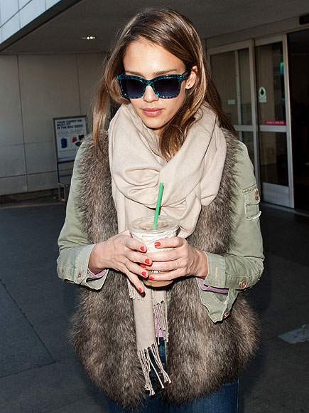 'FUR' REAL photo | Jessica Alba