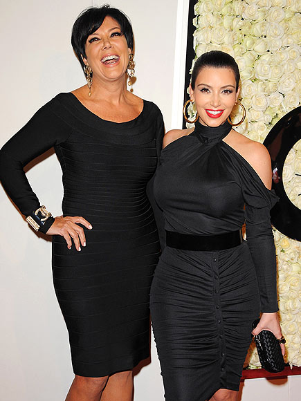 A HAPPY MOMENT  photo | Kim Kardashian, Kris Jenner
