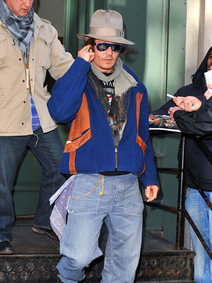 STREET STYLE photo | Johnny Depp