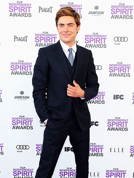 SUIT'S ON photo | Zac Efron