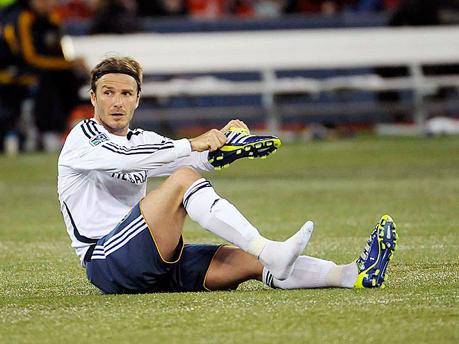 A SHOE IN photo | David Beckham