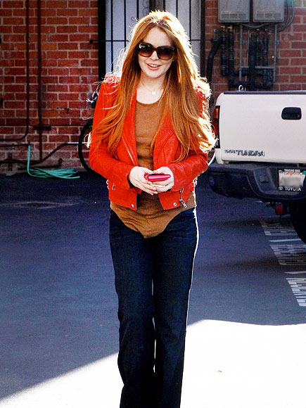 RED-Y, SET, GO! photo | Lindsay Lohan