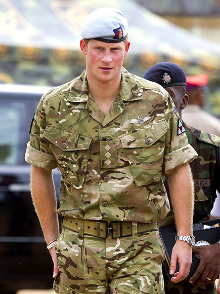 CAMO CUTIE photo | Prince Harry