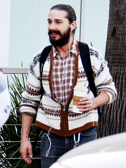THE RIGHT SCRUFF photo | Shia LaBeouf