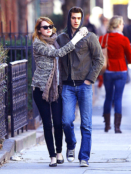 ARM CANDY  photo | Andrew Garfield, Emma Stone