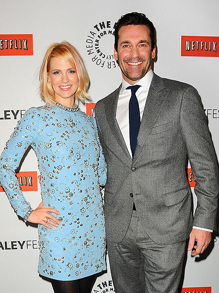 HOT BETTY photo | January Jones, Jon Hamm