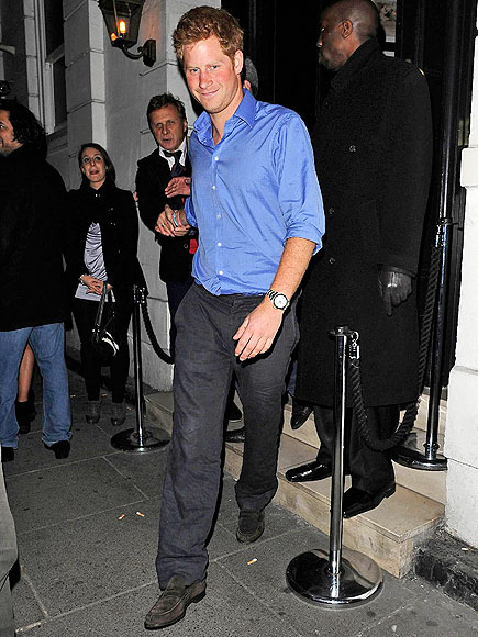 STEPPING OUT photo | Prince Harry
