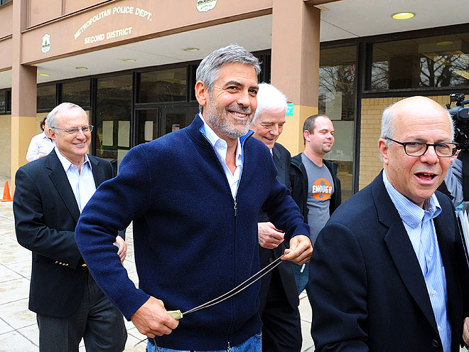 FREE AT LAST photo | George Clooney