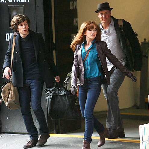 MOVING RIGHT ALONG photo | Isla Fisher, Jesse Eisenberg, Woody Harrelson