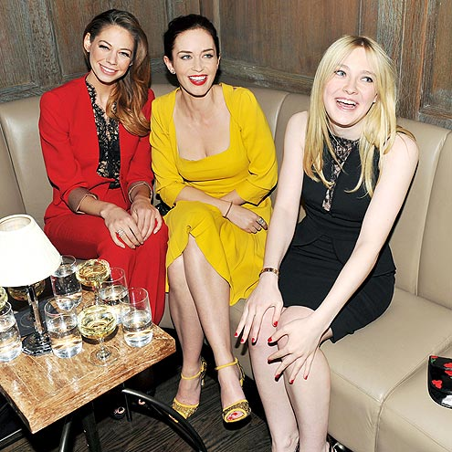 DINNER PARTY photo | Dakota Fanning, Emily Blunt