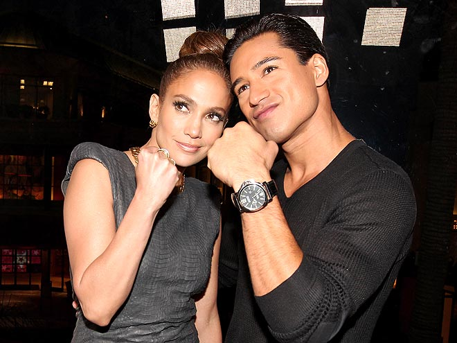 FIGHTING FORM photo | Jennifer Lopez, Mario Lopez