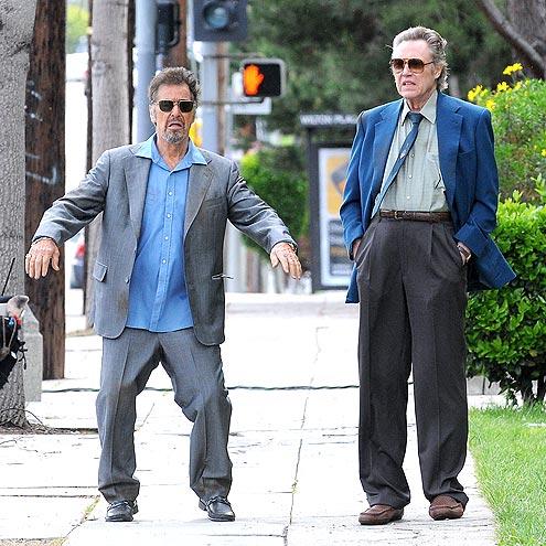 WALK IT OUT  photo | Al Pacino, Christopher Walken