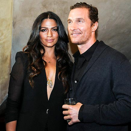A 'NOIR' FEELING photo | Camila Alves, Matthew McConaughey