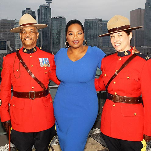 MOUNTIE UP photo | Oprah Winfrey