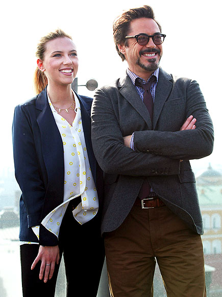 IN GOOD COMPANY photo | Robert Downey Jr., Scarlett Johansson