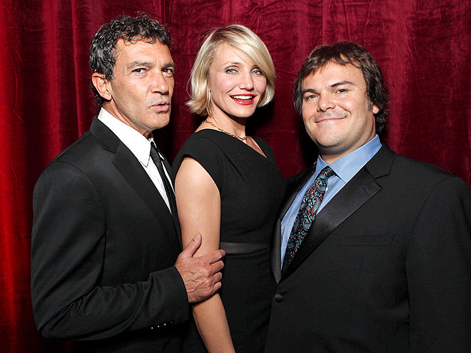 GROUP SHOT  photo | Antonio Banderas, Cameron Diaz, Jack Black