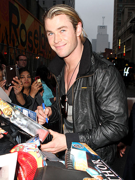 MEET & GREET photo | Chris Hemsworth
