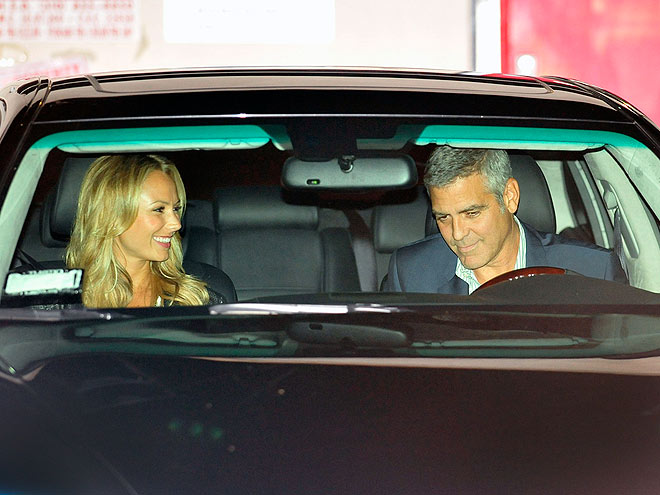 IN A DASH  photo | George Clooney, Stacy Keibler