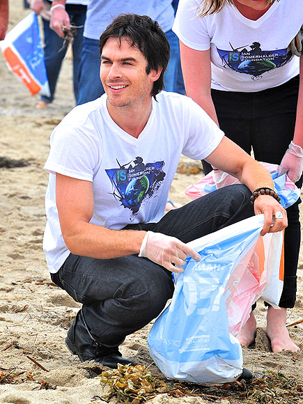 MR. CLEAN  photo | Ian Somerhalder