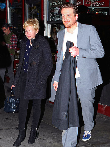 DINNER RUSH photo | Jason Segel, Michelle Williams